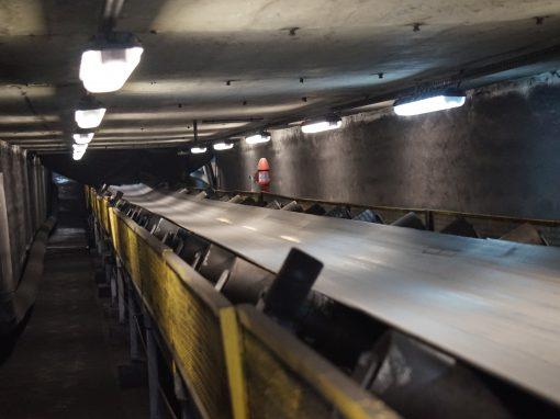 Budowa instalacji oświetlenia nawęglania w Elektrowni PGE