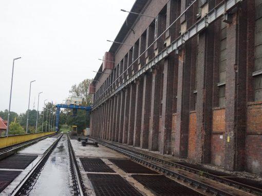 Rozładunek węgla PGE Dolna Odra
