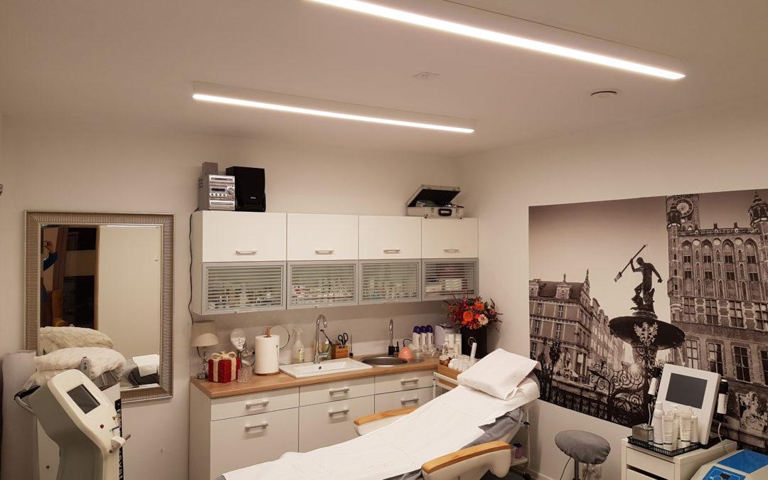 Oprawy DALI – Klinika Morena