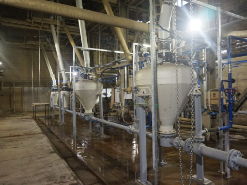 Projekt Oświetleniowe i Budowa Instalacji PGE –  Elektrofiltry